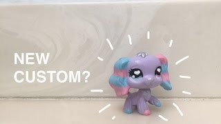 getlinkyoutube.com-LPS: Making a custom! COTTON CANDY PUP