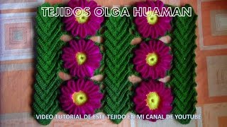 getlinkyoutube.com-tejido en crochet : video 3, como unir la flor y la hoja