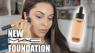 getlinkyoutube.com-MAC Studio Waterweight Foundation Review and Demo - TrinaDuhra