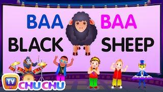 getlinkyoutube.com-Baa Baa Black Sheep - Nursery Rhymes Karaoke Songs For Children | ChuChu TV Rock 'n' Roll