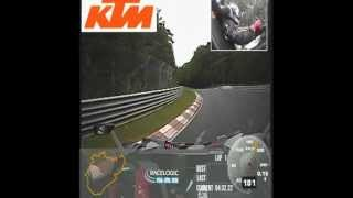 KTM X-BOW RR @ Nürburgring Nordschleife: 7:25,72 Min.