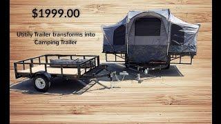 getlinkyoutube.com-Camping Trailer and Utility Trailer