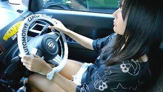 getlinkyoutube.com-【軽と思えない広さ!】ダイハツ ウェイクで南青山をドライブ♪( ^ ^ )/