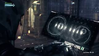 getlinkyoutube.com-Batman Arkham Knight - Track Down Scarecrow In The Stagg Entreprises Airships