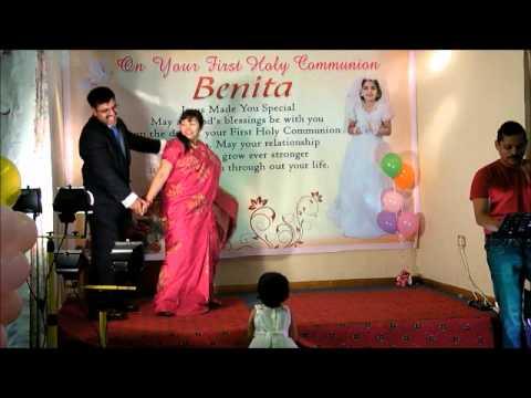 BENITA HOLYCOMMUNION EVENT -CHITHRAHAR  -MR. BABU & MRS .SAJINI BABU