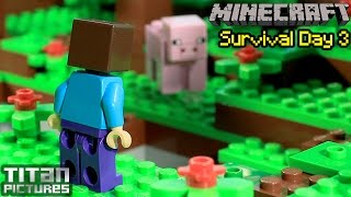 getlinkyoutube.com-Lego Minecraft Survival 3