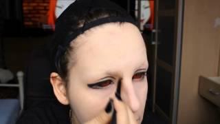 getlinkyoutube.com-Uta [Tokyo Ghoul] make up tutorial