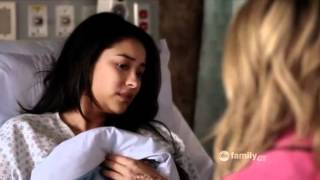 getlinkyoutube.com-PLL - Hannah 'Hole in Emily's Stomach'