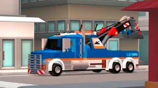 getlinkyoutube.com-Машинки. Мультики про машинки. Эвакуатор. Полицейская машина. Пожарная машина.  Lego City Лего Сити