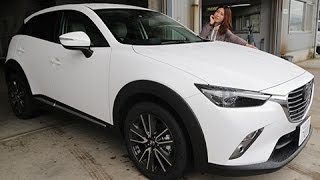 getlinkyoutube.com-マツダ cx-3 【女性レポーターが試乗 Vol.25】XD Touring L Package
