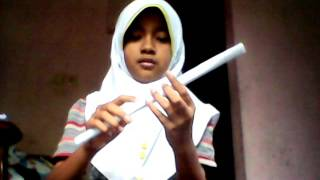 getlinkyoutube.com-Cara membuat tongkat sihir nathkat peri dari kerta