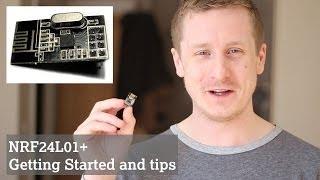 getlinkyoutube.com-NRF24L01+ Wireless Transceiver Module: Getting Started (NRF24L01)