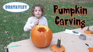 getlinkyoutube.com-Are You Ready to Carve Some Pumpkins? (WK 251.6) | Bratayley