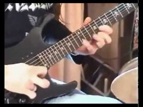 J.S. Bach Toccata [Electric Guitar] + 'Impro'.