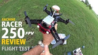 getlinkyoutube.com-Eachine Racer 250 FPV Drone Review - Part 2 - [Flight & Crash Test]