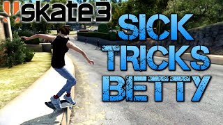 getlinkyoutube.com-Skate 3 - Part 11 | SICK TRICKS BETTY | Playing on easy mode