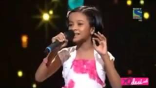 getlinkyoutube.com-Ranita Banerjee  Jhumka Gira Re  Indian Idol Junior 2 11th July 2015