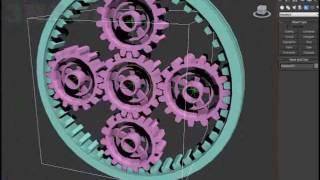 3ds Max Epicyclic Gear (Tutorial)