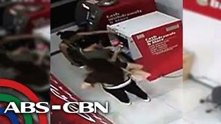 Pag-withdraw gamit ang nakaw na ATM card, huli sa CCTV