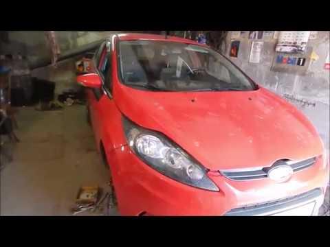Ford Fiesta 2011. Резюме простого ремонта передней ходовки.