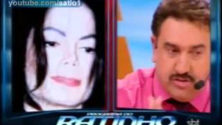 Michael Jackson Morre - Ratinho comenta