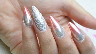 getlinkyoutube.com-Kolorowe ombre z Metal Manix Multi Chrome :: Tutorial efekt lustra na paznokciach HIT