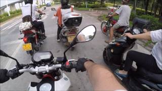 Ep. 73 Benelli TNT 135 Top Speed in HD Sound