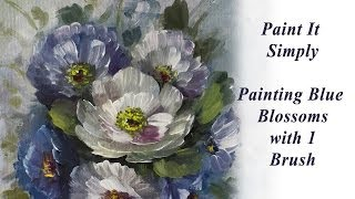 getlinkyoutube.com-Painting Flowers and Blossoms