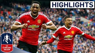 getlinkyoutube.com-Everton 1-2 Manchester United - Emirates FA Cup 2015/16 (Semi-Final) | Goals & Highlights