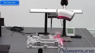 Touch Probe + Laser Scanning