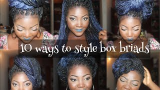 getlinkyoutube.com-10 DIFFERENT WAYS TO STYLE BOX BRAIDS