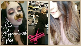 getlinkyoutube.com-VLOG - Come to My Hairdressers Appointment   Process to Blonde Balayage