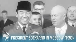 getlinkyoutube.com-President Soekarno In Moscow (1959)