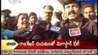 getlinkyoutube.com-Chiru fans attack Rajasekhar