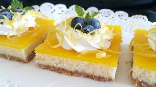 getlinkyoutube.com-مربعات الليمون  Lemon squares