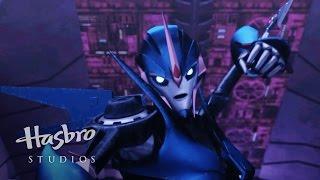 getlinkyoutube.com-Transformers: Prime - Arcee's Jump