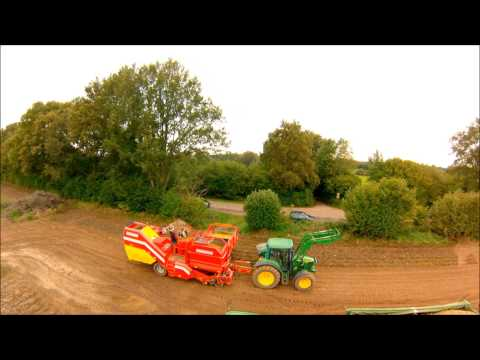 Potato Crop 2013 mit DJI Phanom and Gimal