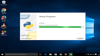 getlinkyoutube.com-How to Download and Install Python 3.5 on Windows 10