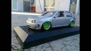 getlinkyoutube.com-Modell Car Tuning 1:18 Golf Mk4