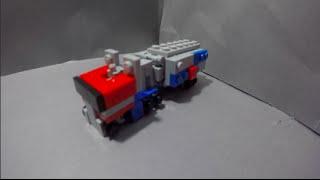 getlinkyoutube.com-Lego TransFormers #20: G1 Optimus Prime V2