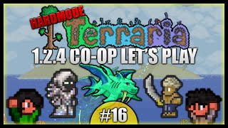 Defensive Spectre Armour! Fighting Duke Fishron! || Terraria Co-Op Survival [Episode 16]