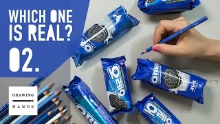 getlinkyoutube.com-어떤 것이 오레오 쿠키 그림 일까요? (Which one is a Painted OREO Cream Sandwich Cookies?) [Drawing Hands]