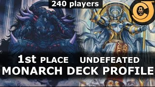 getlinkyoutube.com-UNDEFEATED 1st Place MONARCH Deck Profile (240 players)