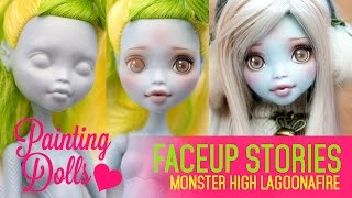 getlinkyoutube.com-Repainting Monster High FreakyFusion Lagoonafire - Faceup Stories 34
