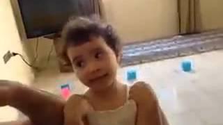 بنت سورية معصبة من اما