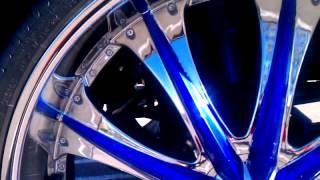 Candy cobalt blue Yukon on 30s
