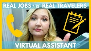 getlinkyoutube.com-Virtual Assistant   Work From The Road   Real Jobs for Real Travelers