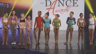 getlinkyoutube.com-Mini Female Best Dancer Dance Off-- Improv Round! | The Dance Awards NYC 2015