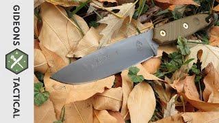 getlinkyoutube.com-Cuts Like A Dream: TOPS Knives Baja 4.5