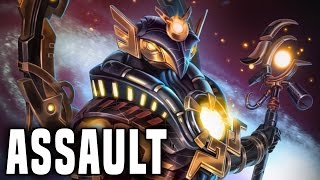 getlinkyoutube.com-My Best Assault Game Ever! | Smite Ra Assault Gameplay (Ra Build)